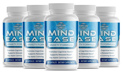 Mind Ease - Anxiety & Stress Relief (5 Bottles)