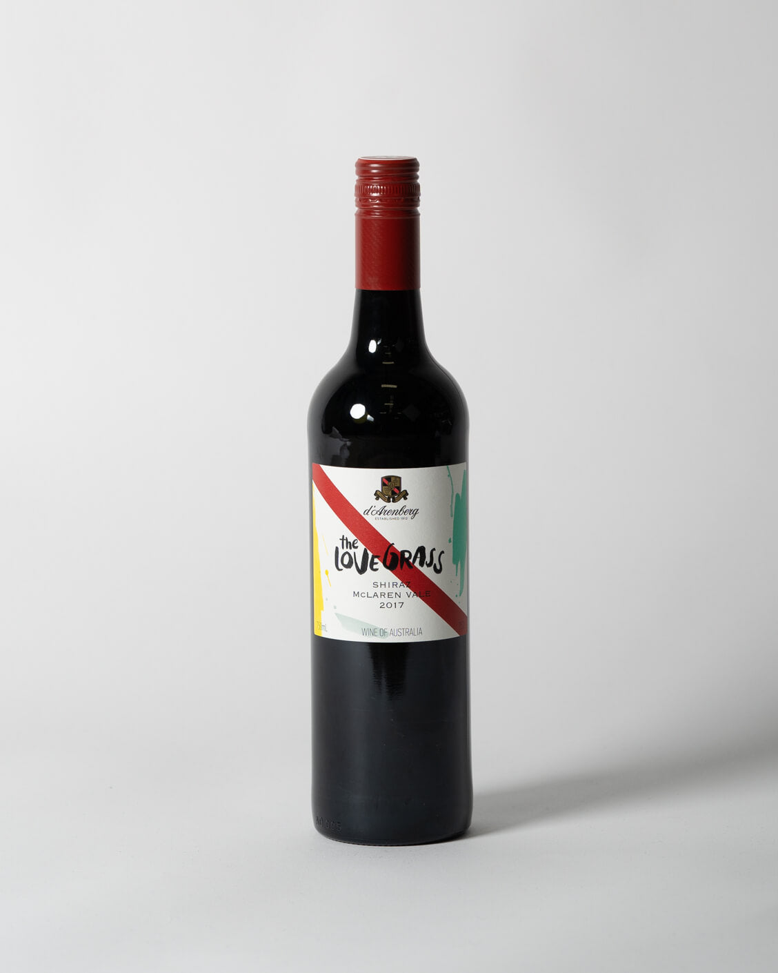 D'arenberg | The Love Grass Shiraz | 2017 | Heroes & Comrades | Perth Delivery