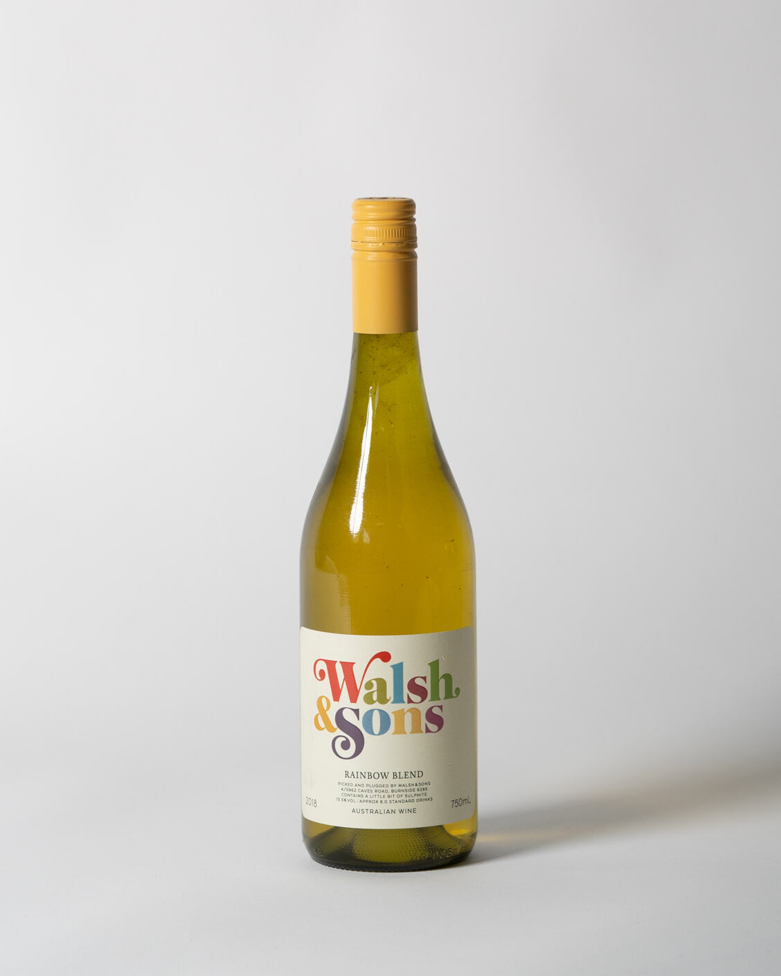 Walsh & Sons | Rainbow White Blend | 2018 | Heroes & Comrades | Perth Delivery