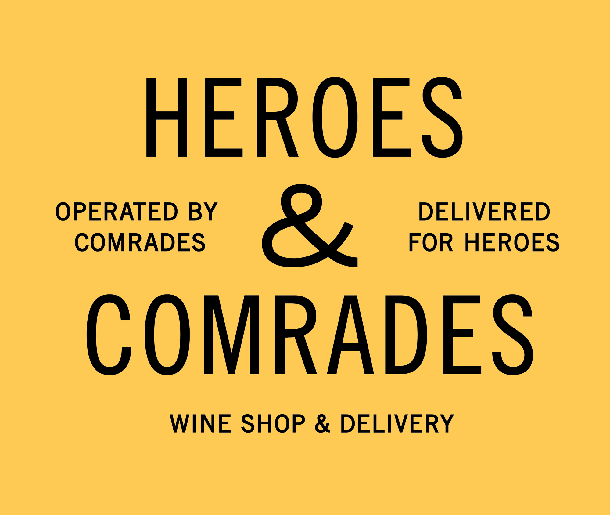 Online Store Voucher | Heroes & Comrades | Perth Delivery