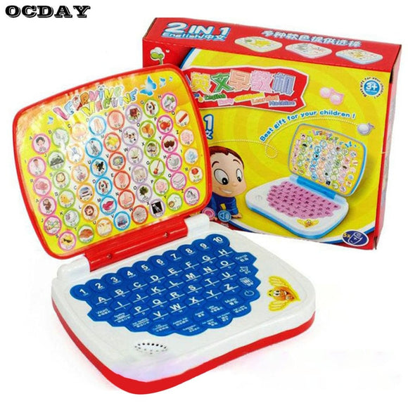 baby  Educational Toy Computer Laptop Children Gift Developmental Toy