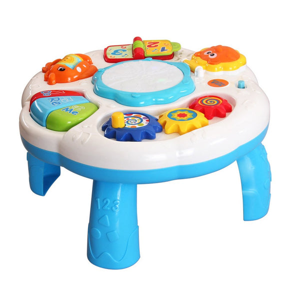 Baby Music Learning Table Multifunctional Game Table for toddlers