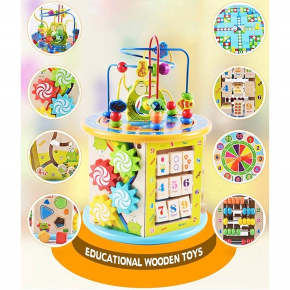 Early Childhood Learning Educational Toys kids Color Puzzles Math Toys For Baby