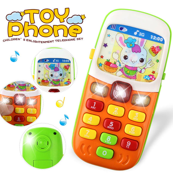 Kid Telephone Educational Learning Toys