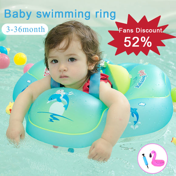 0-6 Age  inflatable swimming  baby bath circle children's Arms Ring for newborn swimming