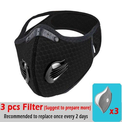 Activated Carbon Protective Cycling Mask