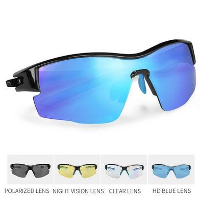 INBIKE Polarized Cycling Glasses with 5 Lenses