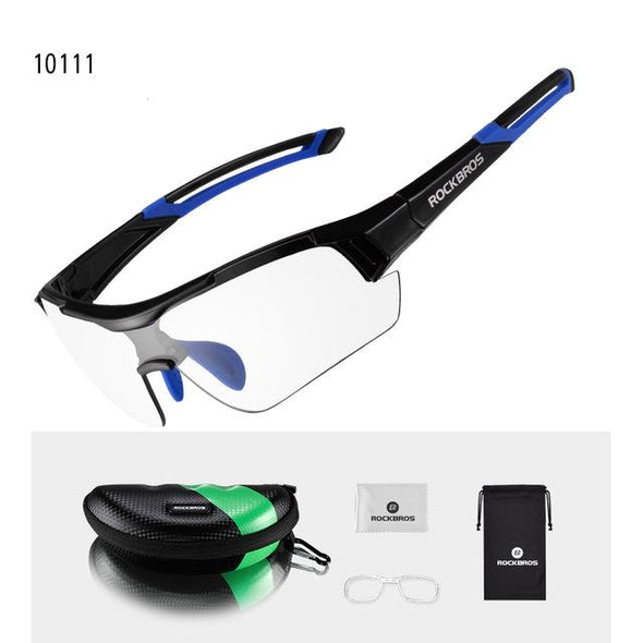 ROCKBROS Photochromic Cycling Sunglasses UV400 Bicycle Eyewear-Inbike Cycling