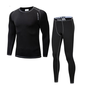 WOSAWE Thermal Fleece Underwear Set