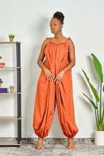 Making Waves Loose Fit Parachute Jumpsuit