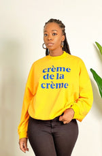 All About It Long Sleeved Sweatshirt - Yellow