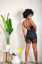 Got Me Bodied Lingerie Style Lace Romper