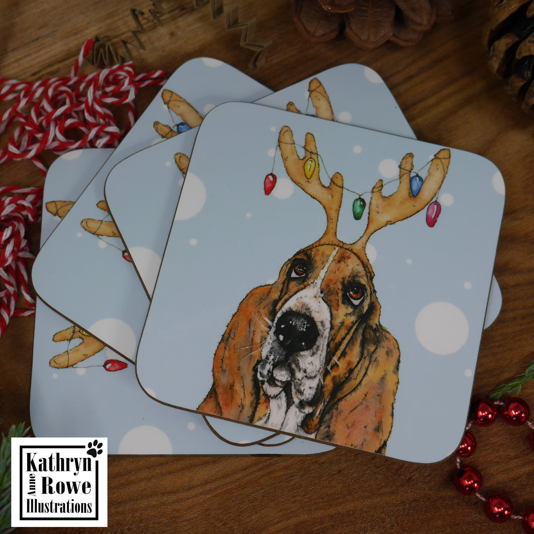 Christmas Wishes Coaster
