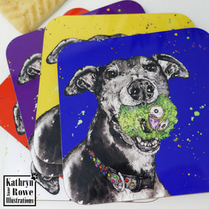 Miniature Schnauzer Fridge Magnet