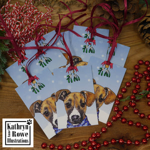 Christmas Kisses Gift Tag