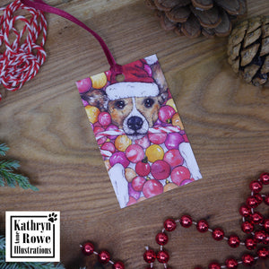 Jingle Balls Gift Tags