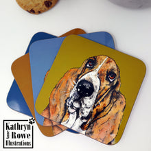 Load image into Gallery viewer, Basset Hound Coaster