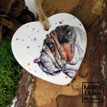 Load image into Gallery viewer, Bulldog Ceramic Decoration
