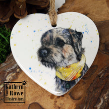 Load image into Gallery viewer, Border Terrier Ceramic Decoration