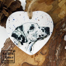 Load image into Gallery viewer, Dalmatian Ceramic Decoration
