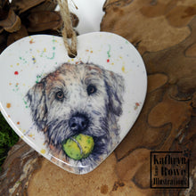 Load image into Gallery viewer, Soft Coated Wheaten Terrier Ceramic Decoration