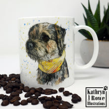 Load image into Gallery viewer, Border Terrier Bone China Mug
