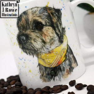 Border Terrier Bone China Mug