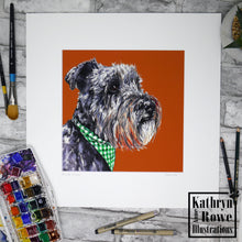 Load image into Gallery viewer, Buster Print  (Mounted)