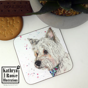 West Highland White Terrier Coaster