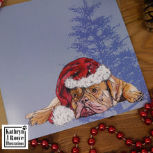 Load image into Gallery viewer, Dogue de Bored-Oh Has He Been Yet?  Christmas Card