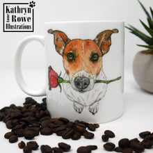 Load image into Gallery viewer, Jack Russell Terrier Bone China Mug