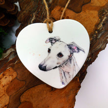 Load image into Gallery viewer, Whippet Ceramic Decoration