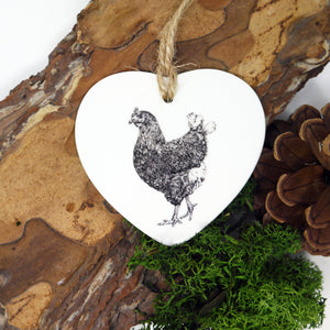 Chicken Ceramic Decoration