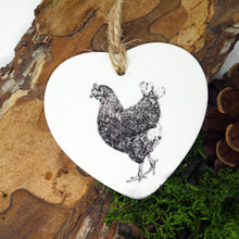 Load image into Gallery viewer, Chicken Ceramic Decoration