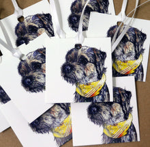 Load image into Gallery viewer, Border Terrier Gift Tags