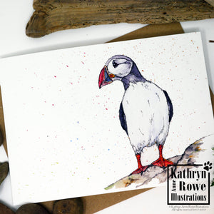 Puffin Greeting Card