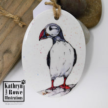 Load image into Gallery viewer, Puffin Ceramic Decoration