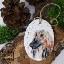 Load image into Gallery viewer, Afghan Hound Decoration