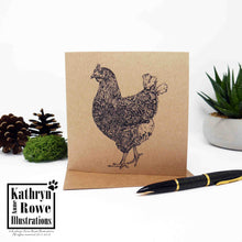 Load image into Gallery viewer, Chicken Greeting Card