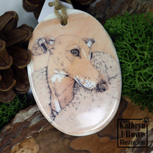 Load image into Gallery viewer, Italian Greyhound Ceramic Decoration