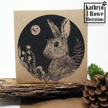 Load image into Gallery viewer, Rabbit Greeting Card