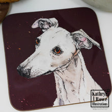 Load image into Gallery viewer, Whippet Coaster