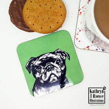 Load image into Gallery viewer, Pug Coaster