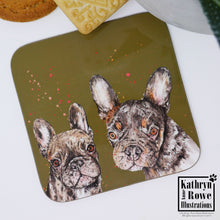 Load image into Gallery viewer, French Bulldog Coaster