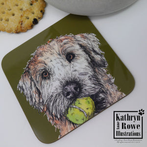 Soft Coated Wheaten Terrier Coaster