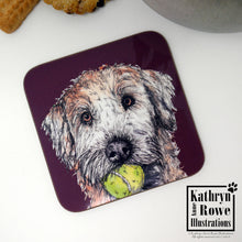 Load image into Gallery viewer, Soft Coated Wheaten Terrier Coaster