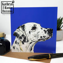 Load image into Gallery viewer, Dalmatian Greeting Card