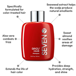Seven Rinzu Color Protect Color Shampoo 10.8oz