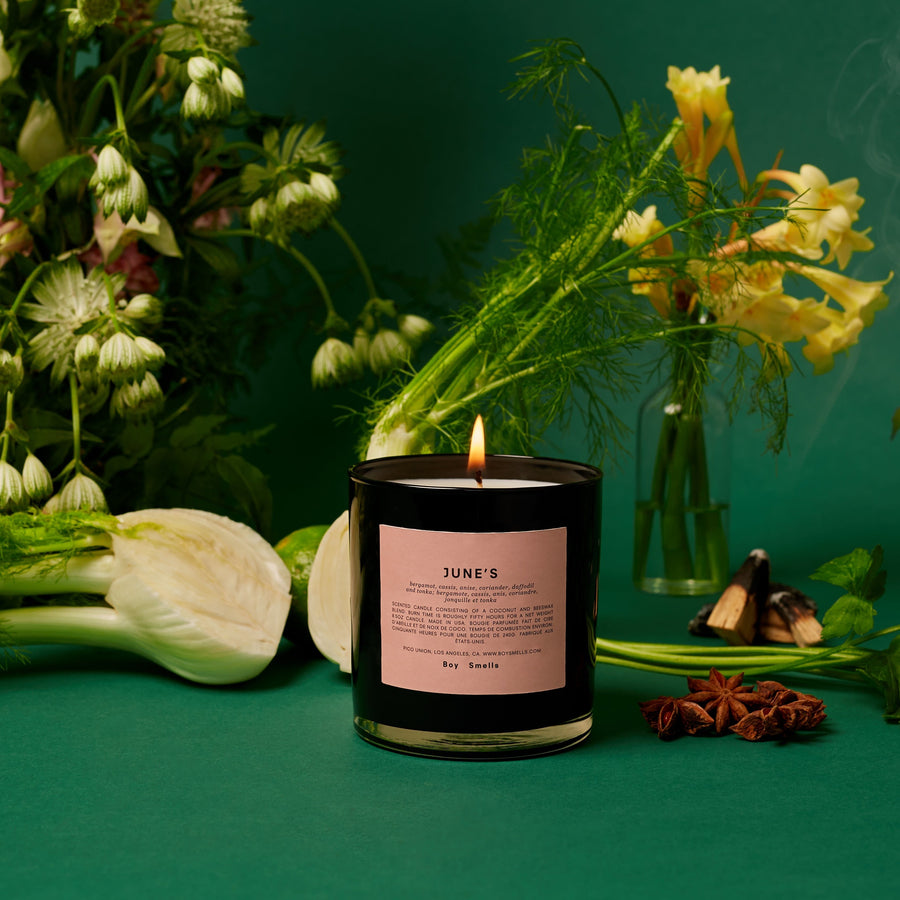 JUNE'S CANDLE - Boy Smells
