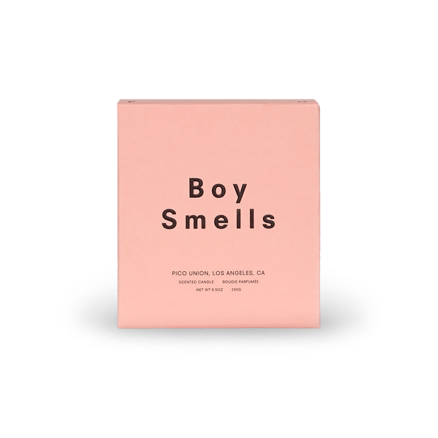CINDEROSE Candle - Boy Smells